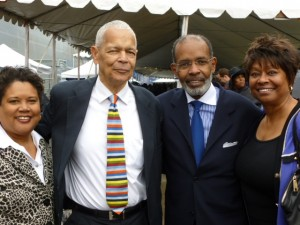 Joe, Julian Bond, Jan Temple, Clayola Brown